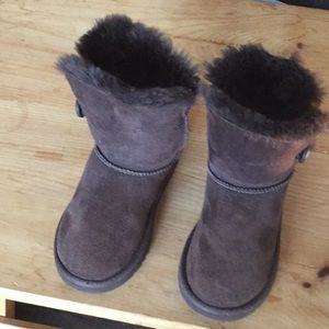 UGG Australia toddler boots girls size 12 suede